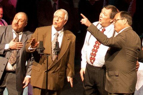 Harmony Guaranteed Quartet Earns 2012 District Service Award
